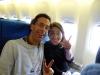 Dans l\'avion
