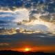 coucher de soleil - Japon
