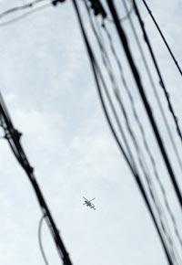 Les hélicoptères…