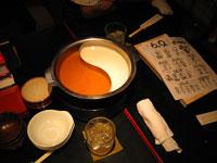 La table de Shabu-ya