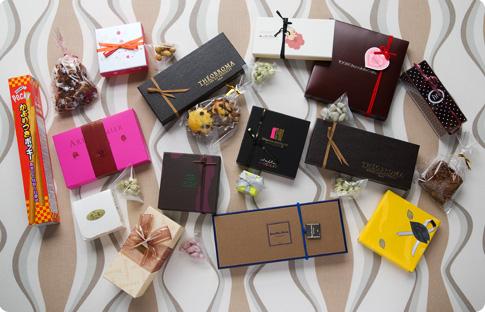 Collection de chocolats pour la Saint Valentin