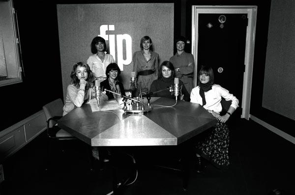 animatrices FIP en 1980