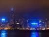 Panorama nuit - Baie Hong Kong