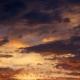 ciel de saison des pluies